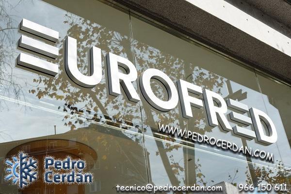 EUROFRED. climatización villena